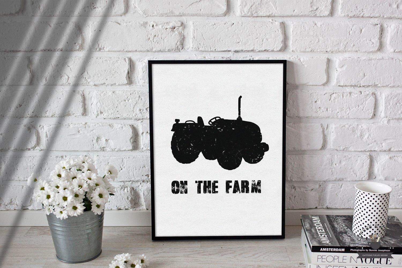 Farm Silhouettes example image 5
