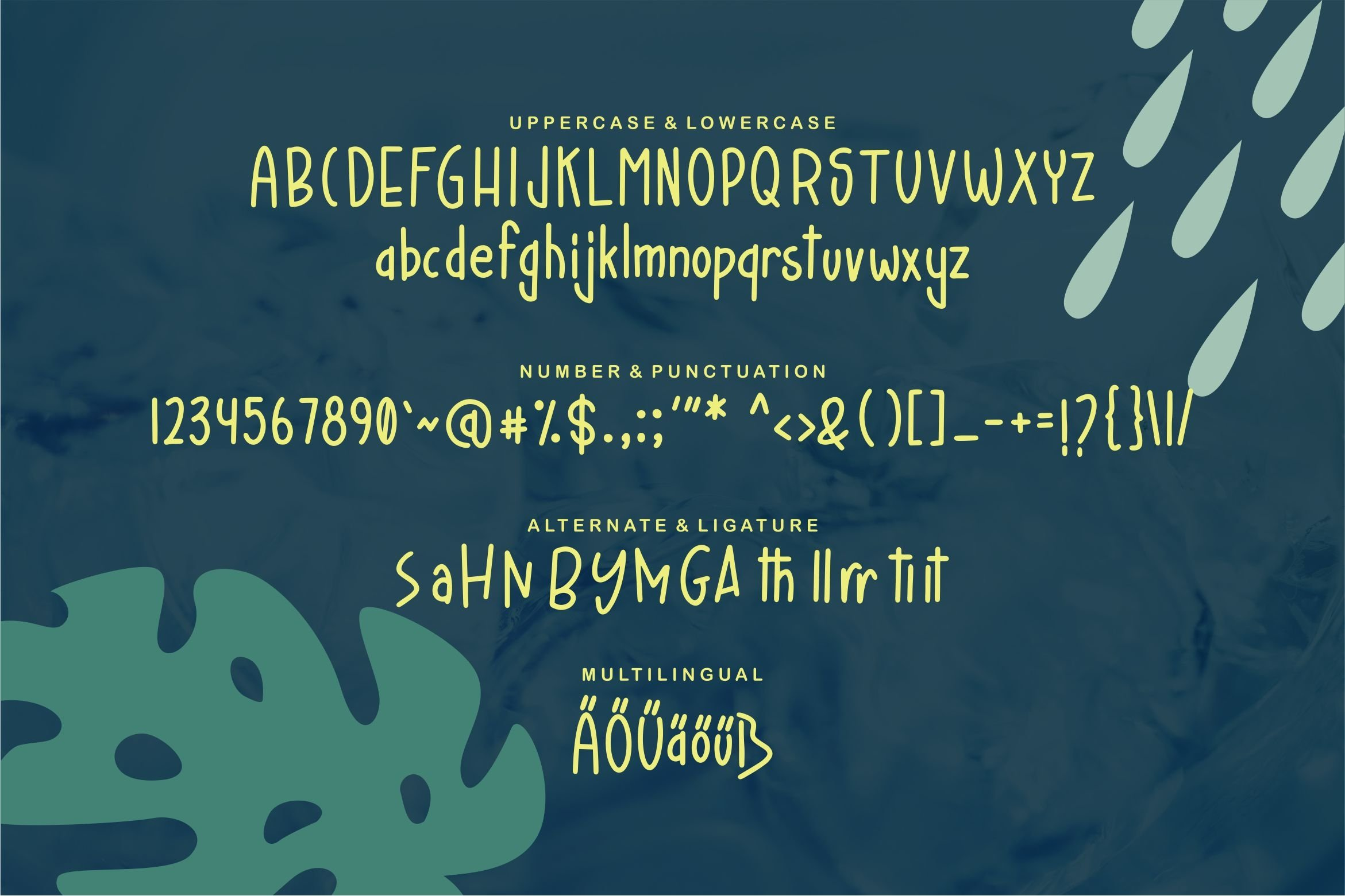 Haylan - A Handdraw Fancy Font example image 3
