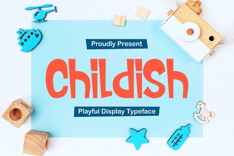 Childish - Playful Display Typeface example image 1