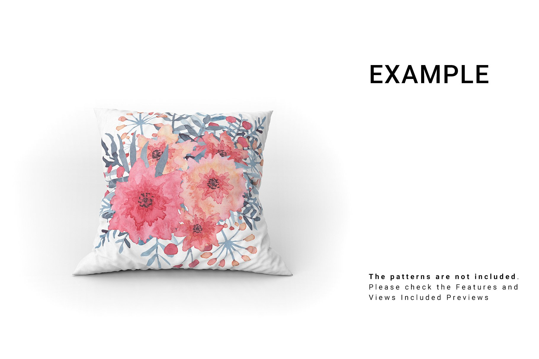 Throw Pillows Mockup Set example image 7