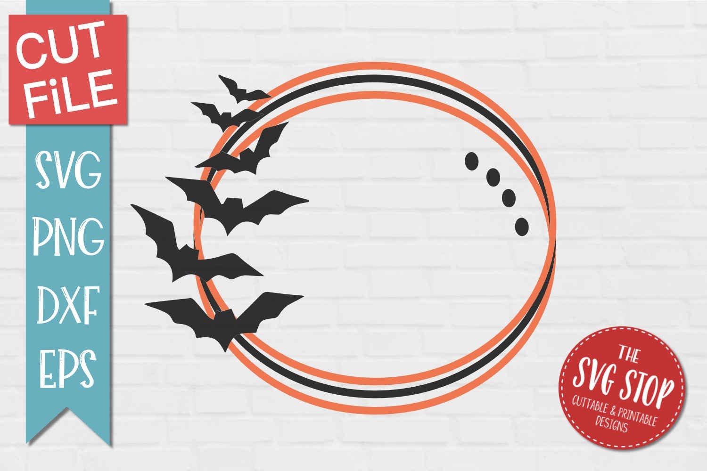 Bats Monogram Frame Svg Png Dxf Eps 339944 Svgs Design Bundles