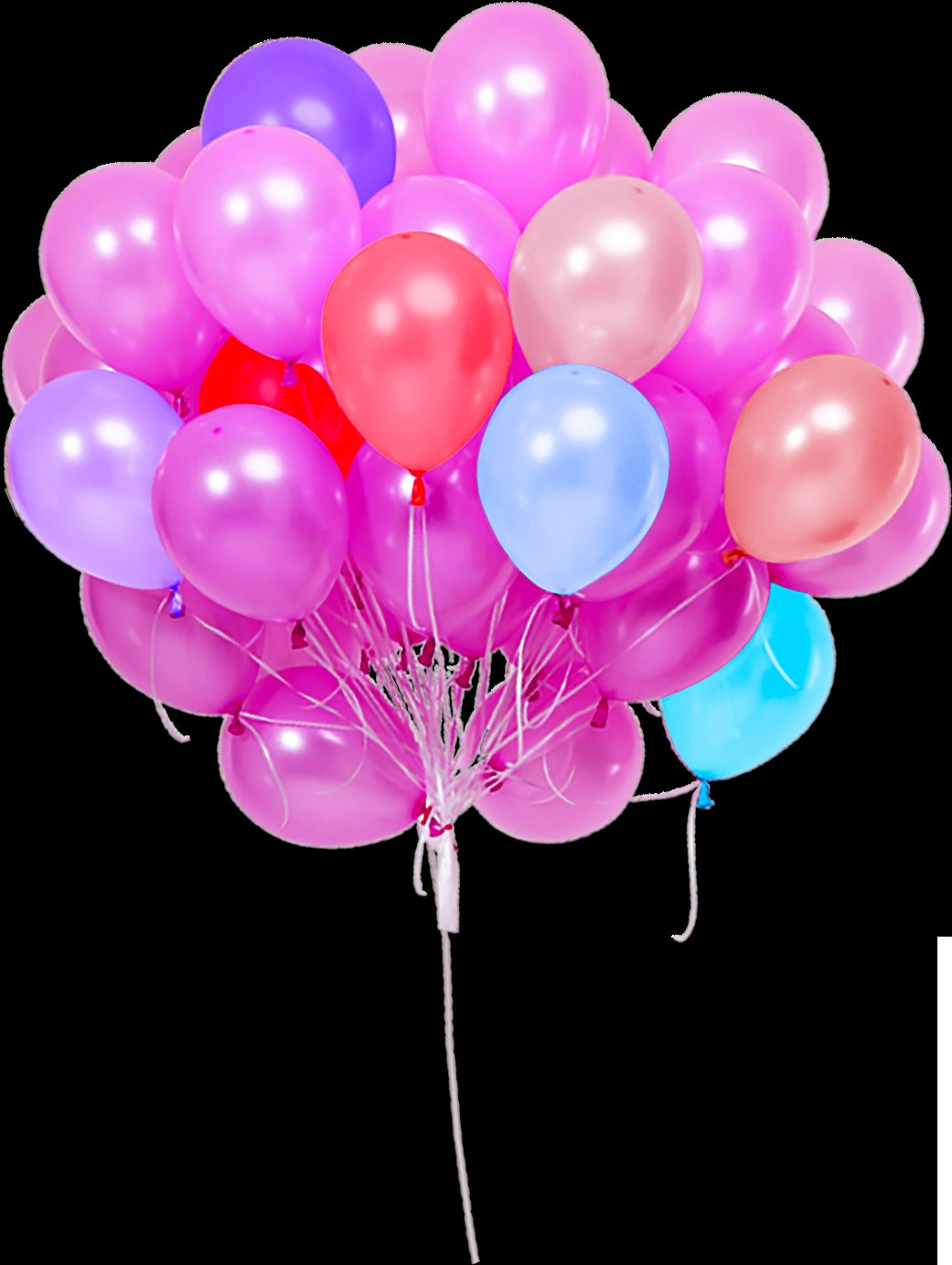 200 Balloons Png Photoshop Overlays  Backgrounds