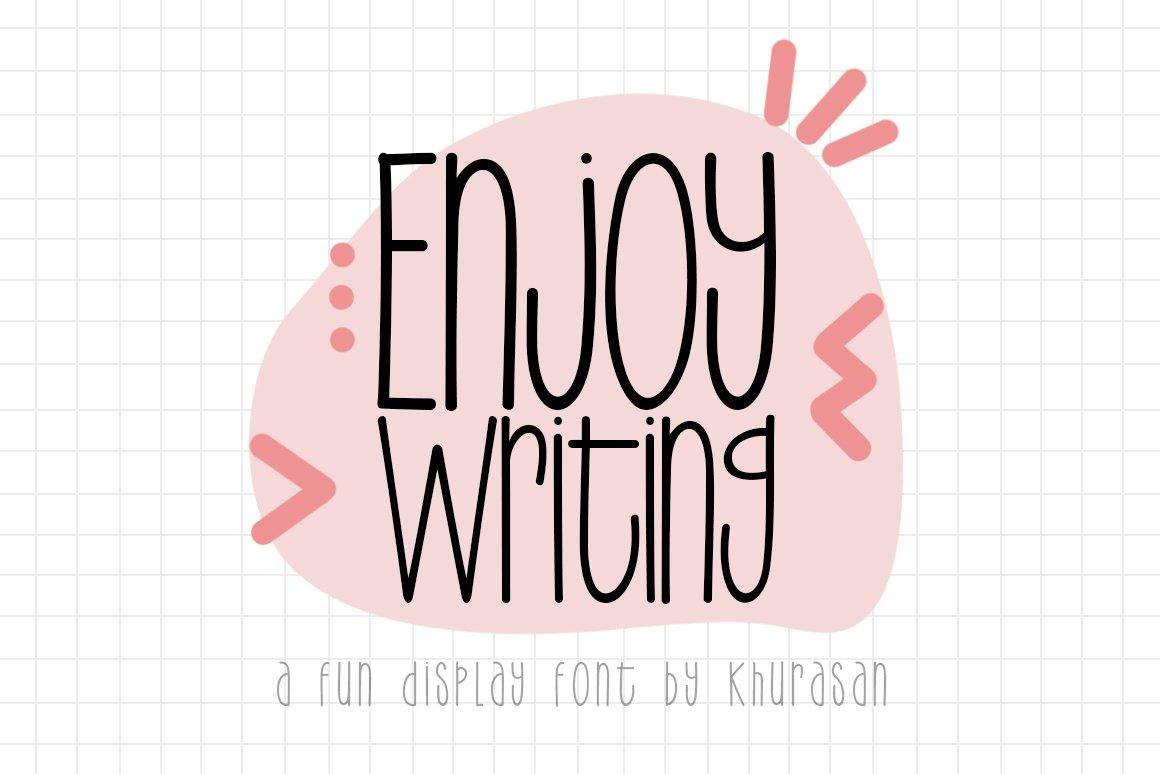 Enjoy Writing example image 1