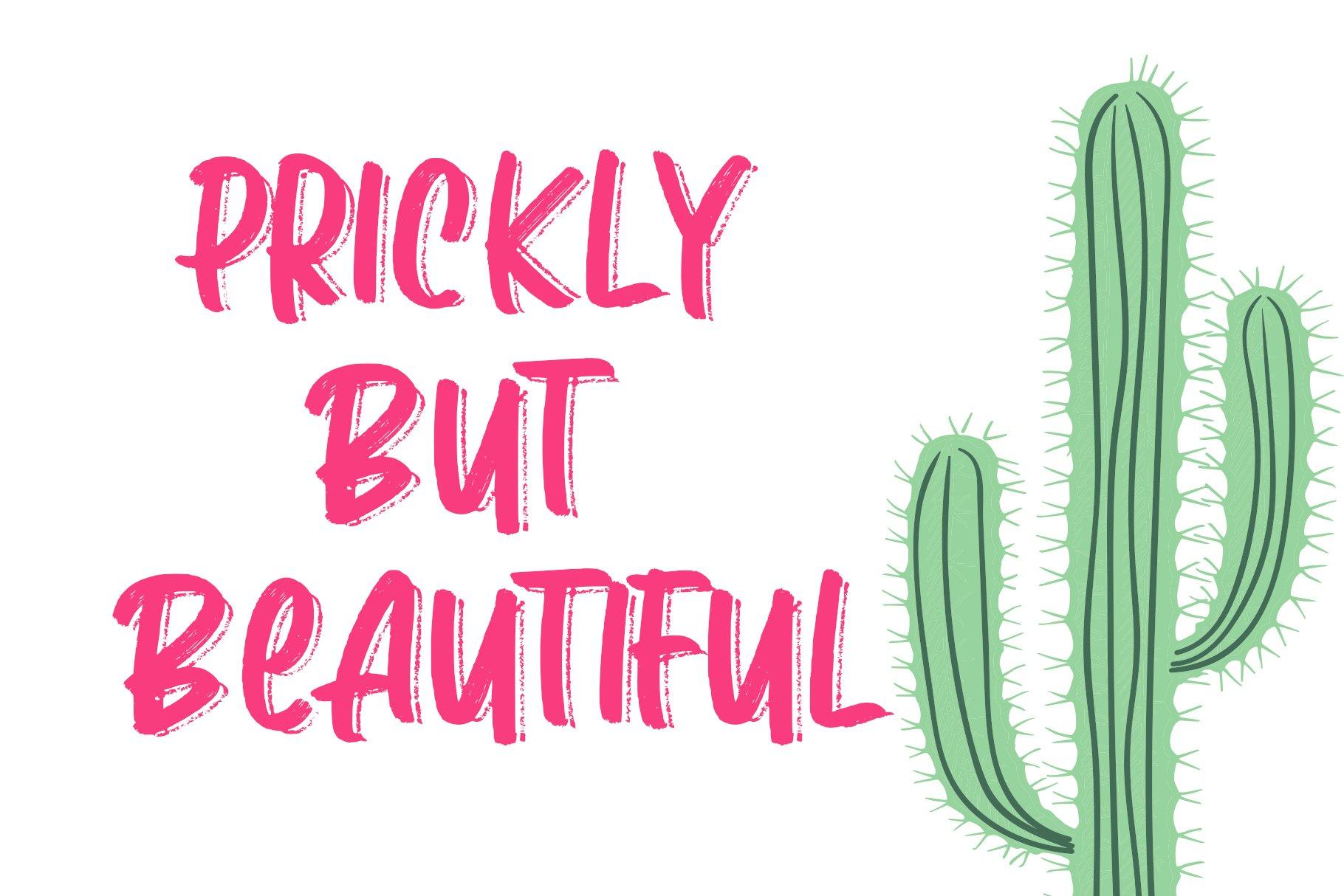 Love Monday - Brush Font example image 5