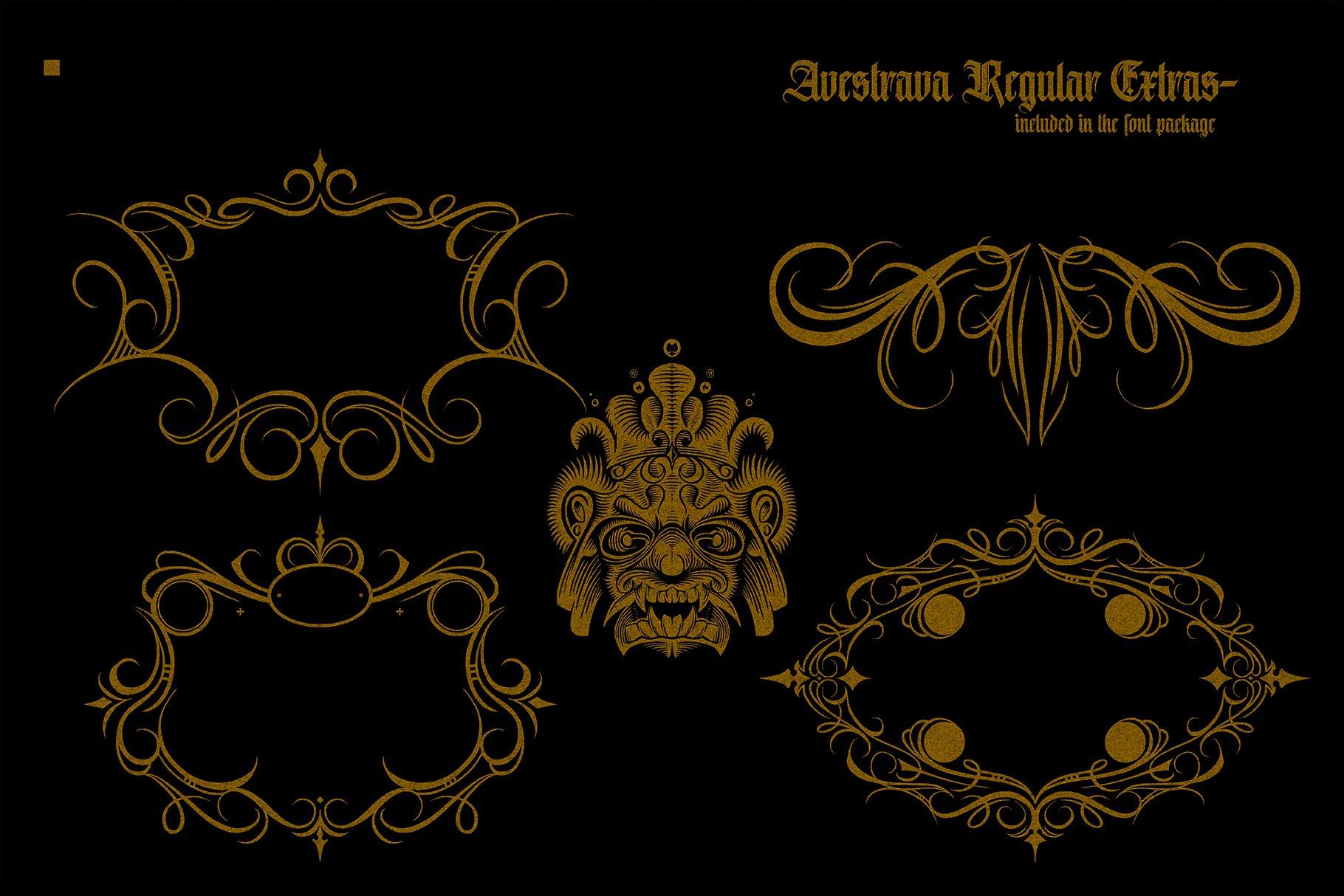 Avestrava Regular example image 11