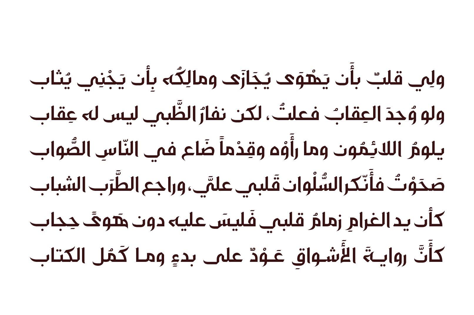 Zahey - Arabic Font example image 5