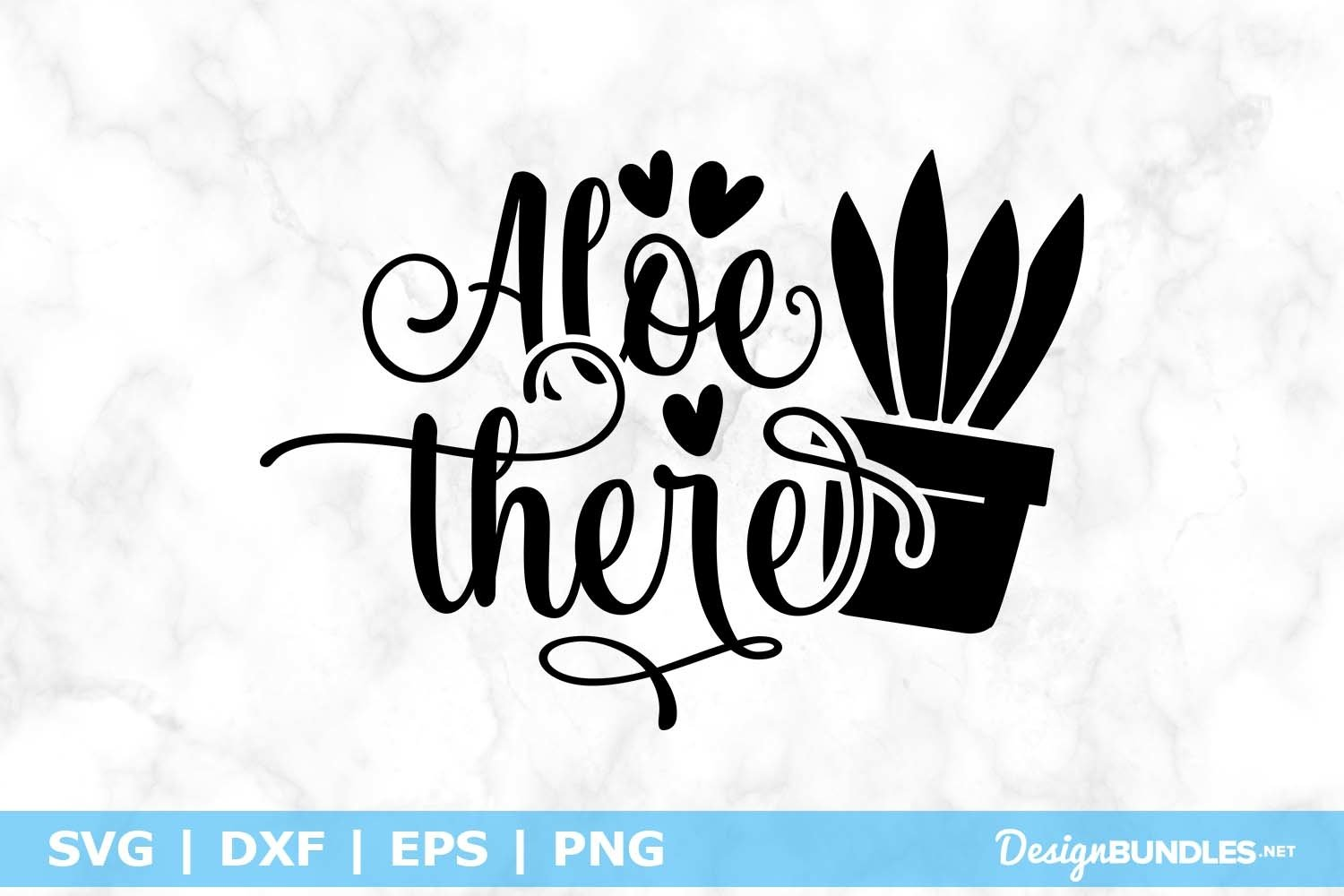 Aloe There SVG File example image 1