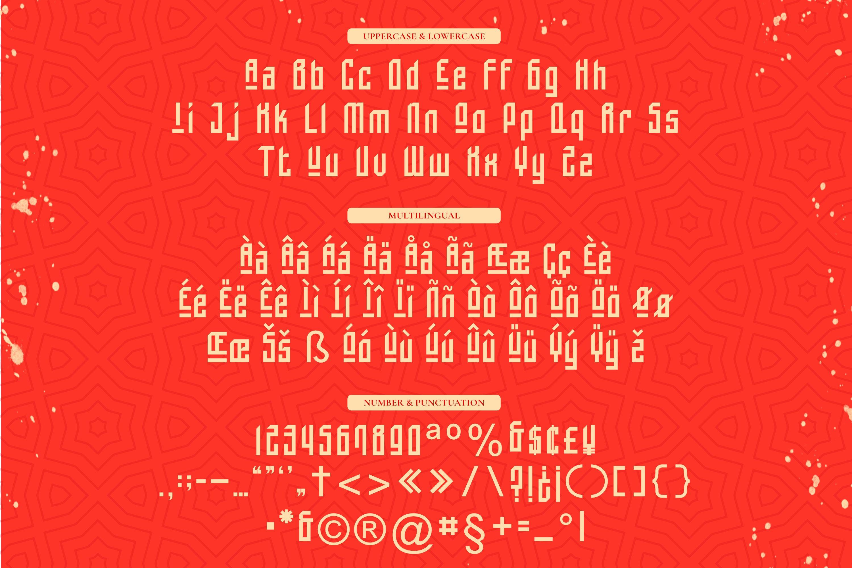 Tzuyu - Display Font example image 3