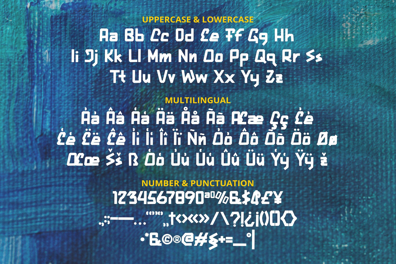 Mersada Rupa Font example image 5