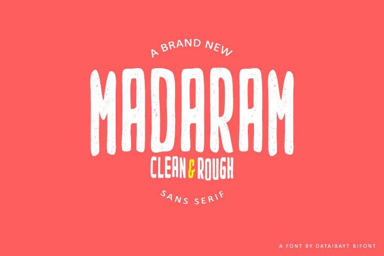 MADARAM FONT example image 1