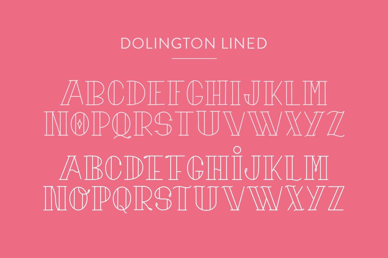 Dolington Font Duo example image 4