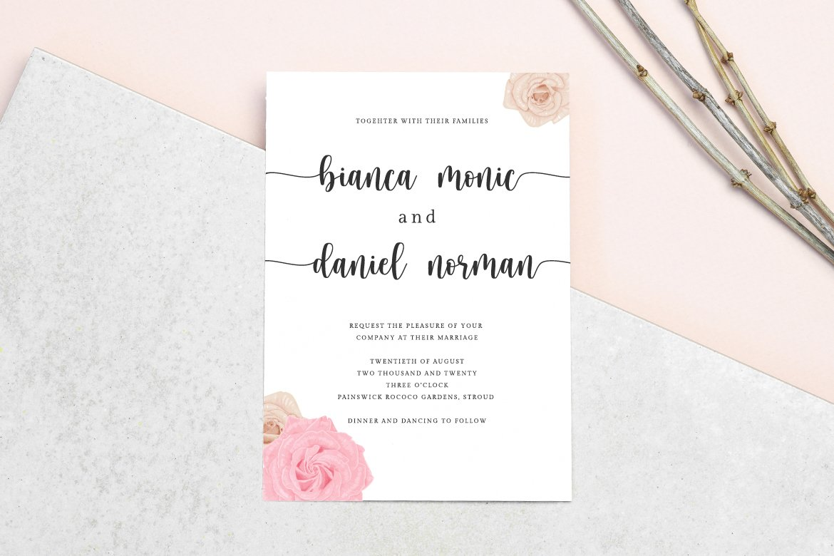 hello honey - a chic script font example image 7
