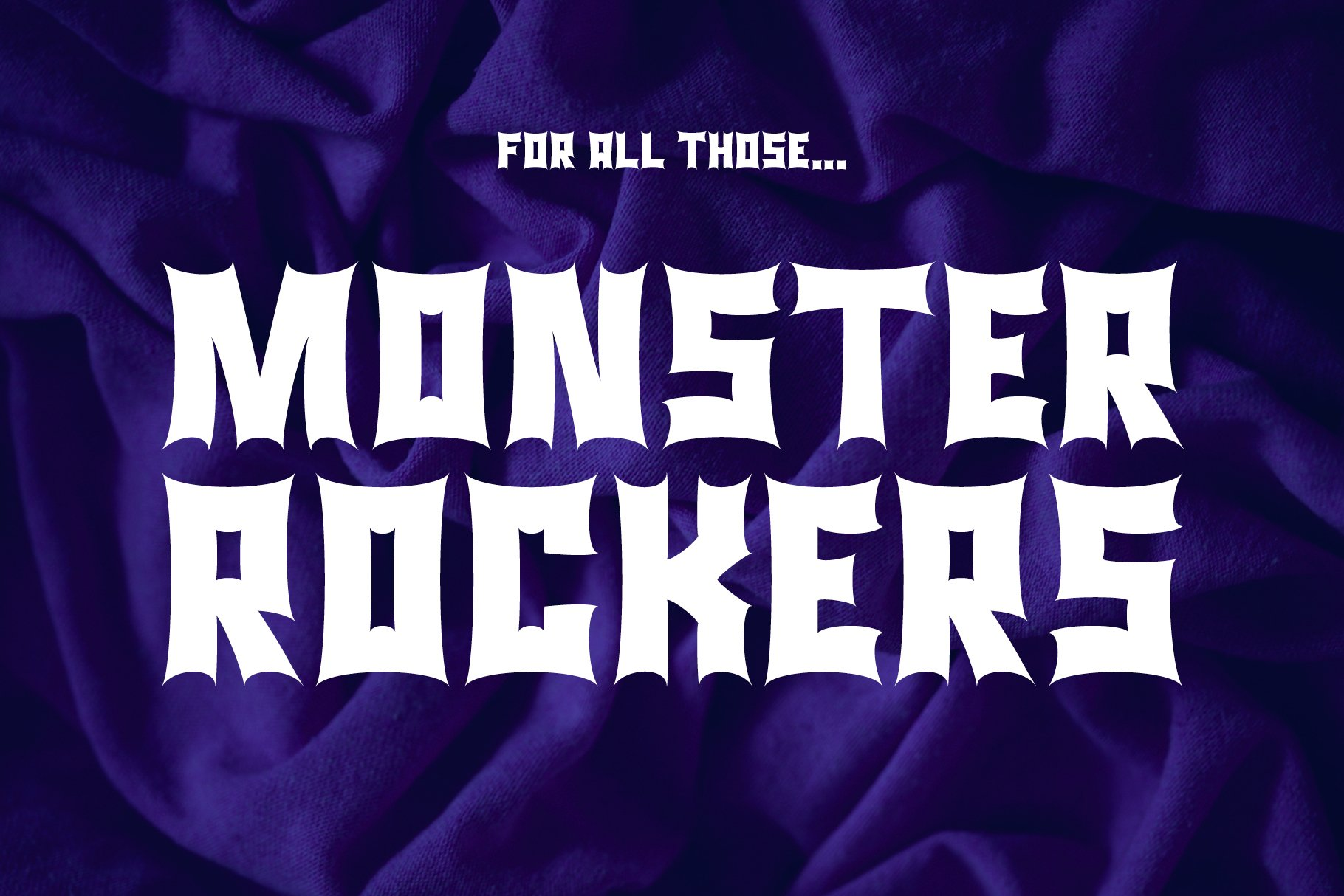 Monster Rock font - Monsta Rocka example image 1