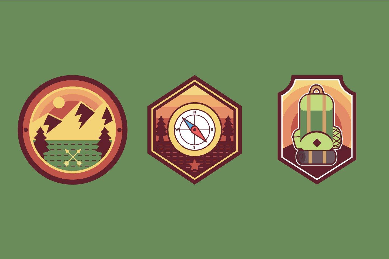 Adventure Badge illustrations example image 1