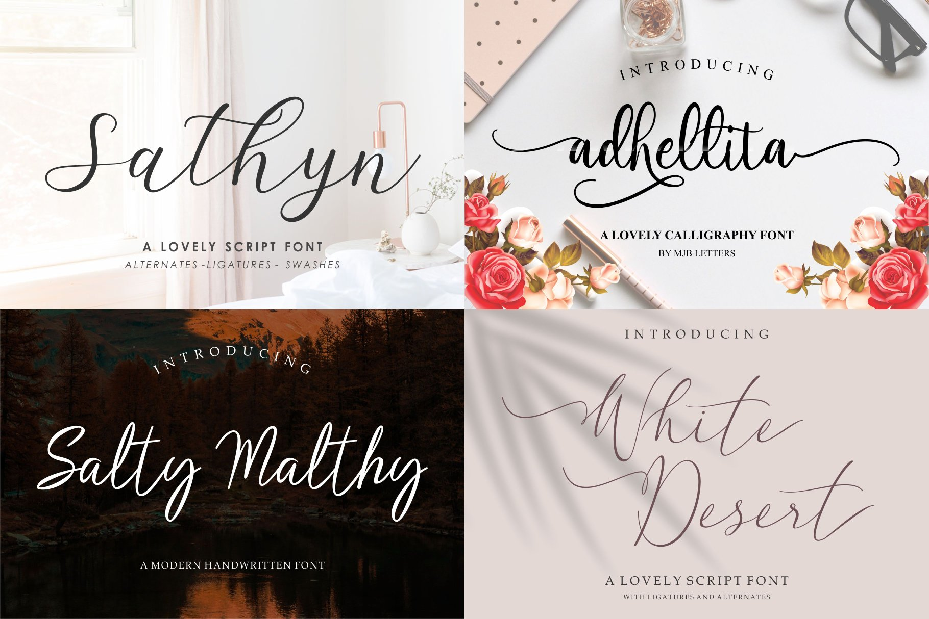 BIG BUNDLE - BEST FONT COLLECTIONS example image 6