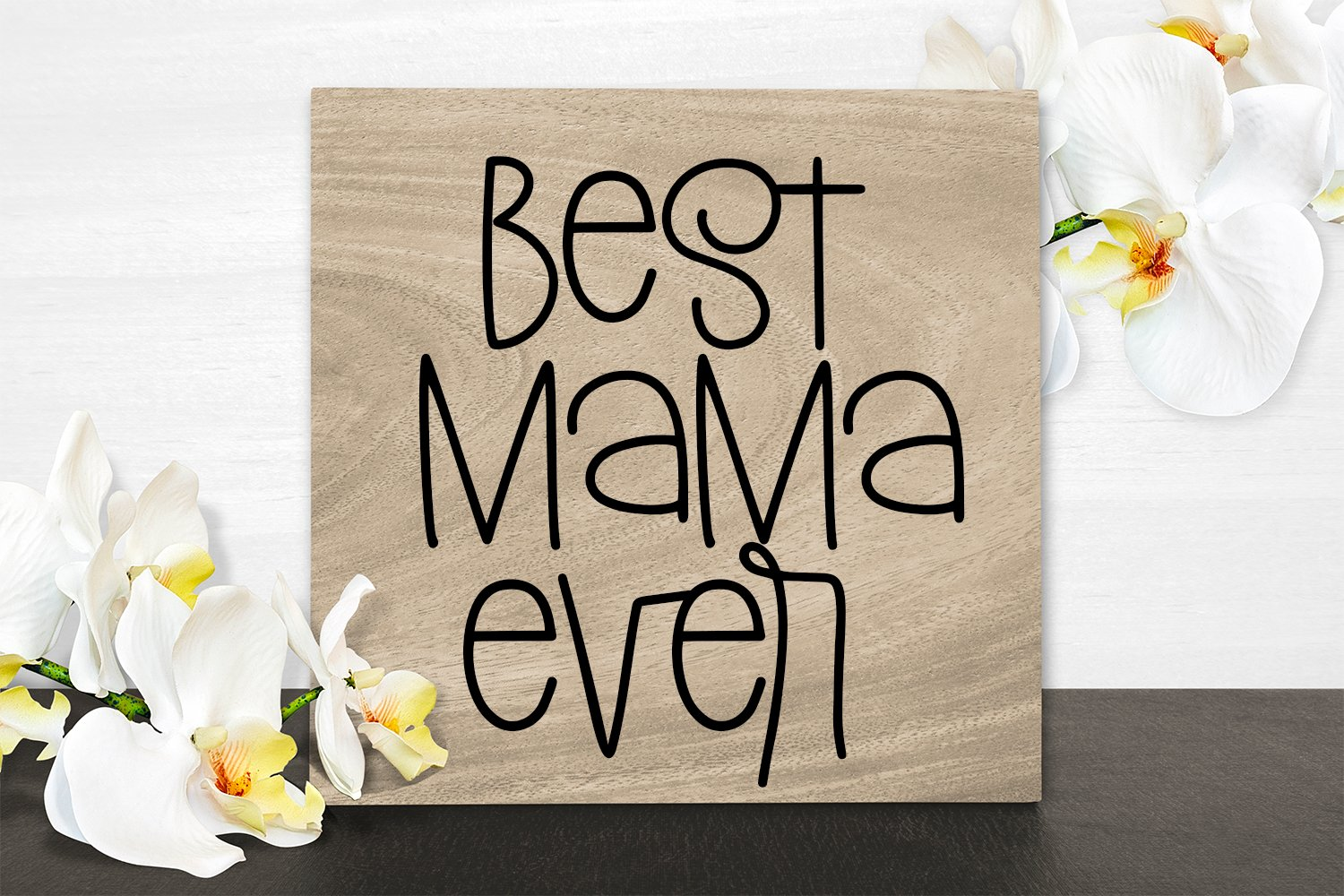 Mother's Day - A Silly Hand-Lettered Font example image 6