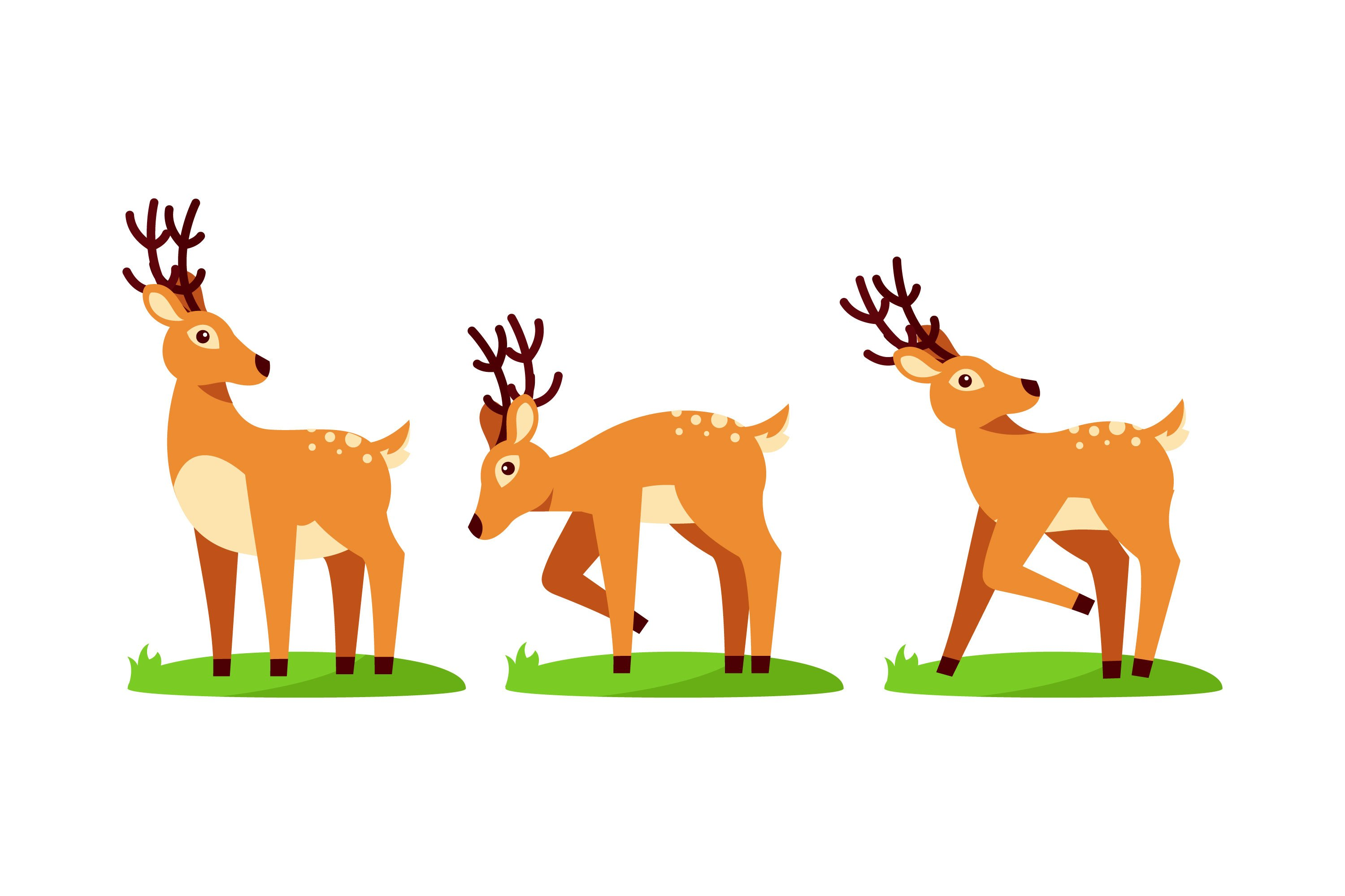 Deer Ilustrations example image 1