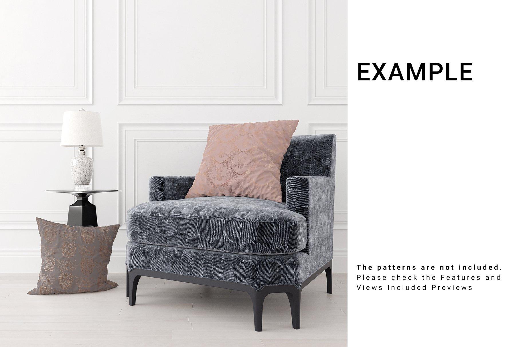 Luxury Interior Throw Pillows Set example image 6