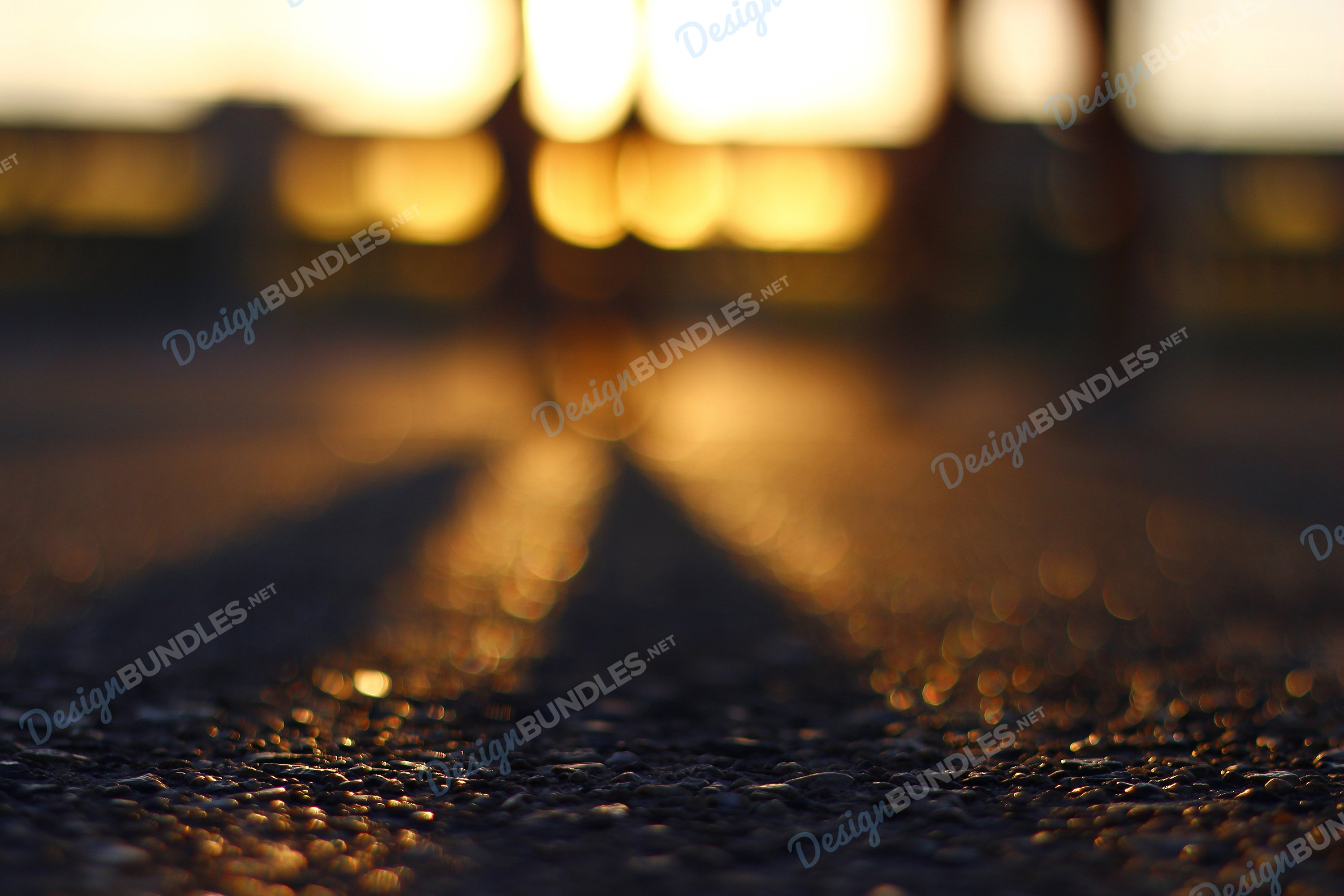 Stock Photo - Shadow At Sunset example image 1