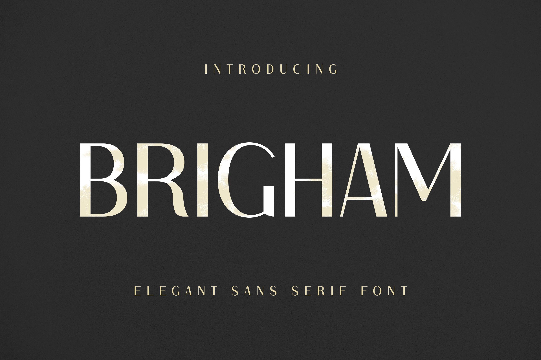 Brigham Font example image 1