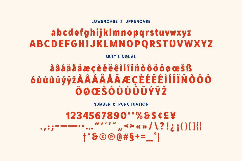 Gluecöla - Powerful Display Typeface example image 5