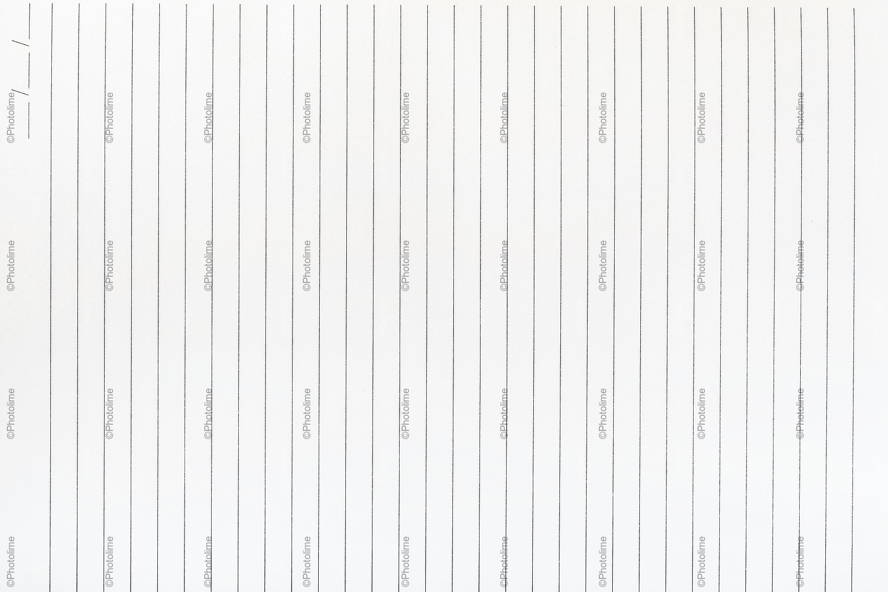 Exercise book paper page with lines, one page. example image 1