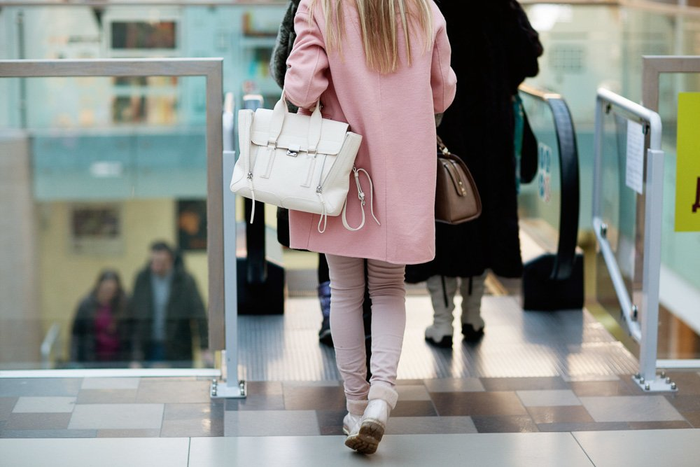 Clothing details, casual style, pink coat, pink pants example image 1