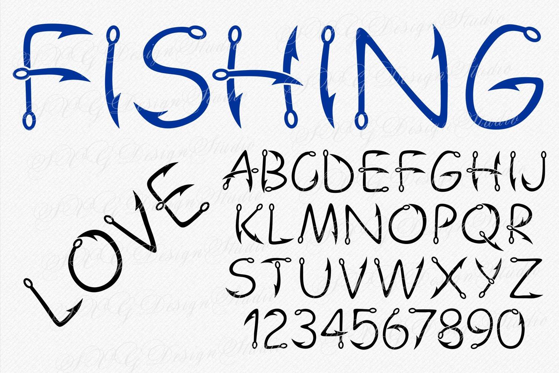 Hook Fishing Font example image 2