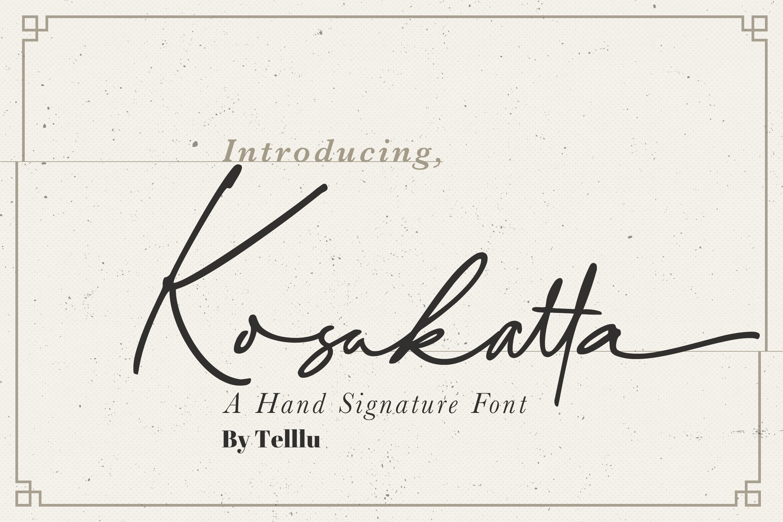 Kosakatta example image 1