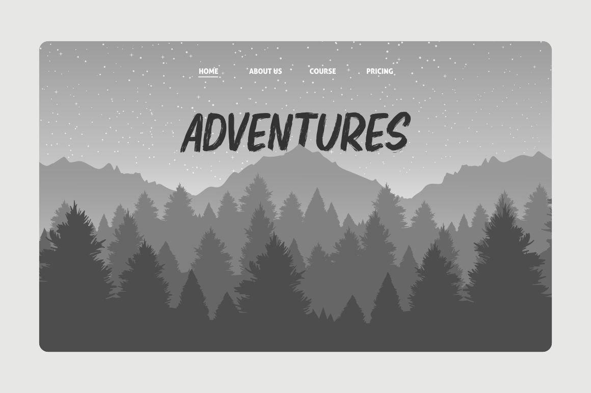 Elbrush - New Brush Font example image 9