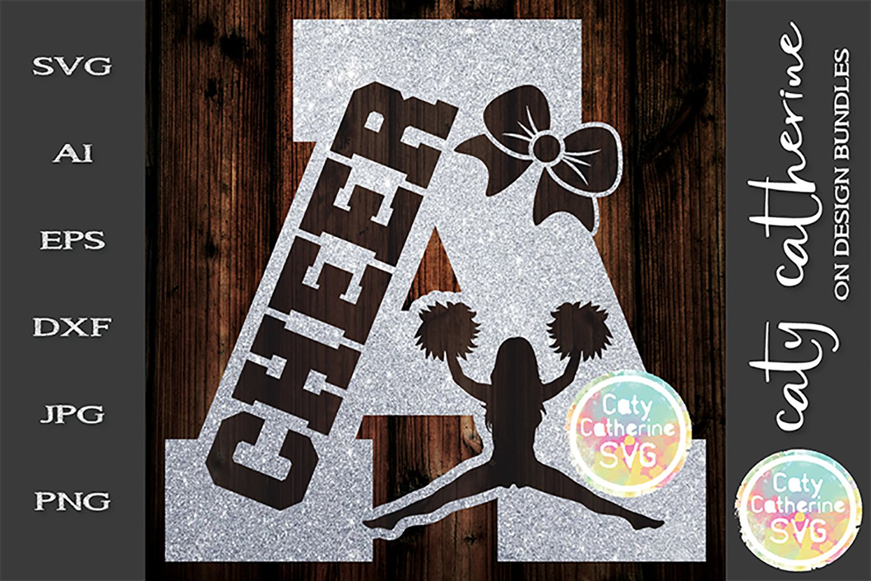Letter A Cheerleading Monogram Letters Svg Cut File 248323 Svgs Design Bundles
