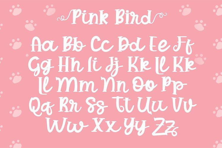 Pink Bird example image 5