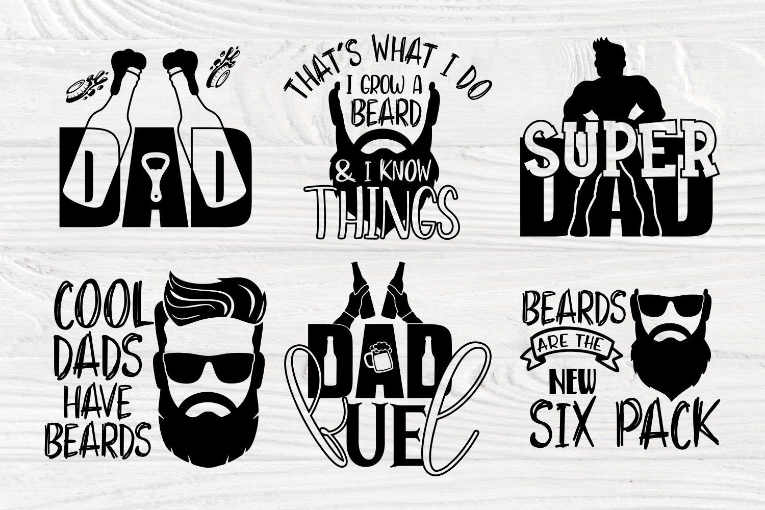 Free Whether you go funny or heartfelt, these thoughtful cards will definitely a star wars reference is mandatory on father's day, and this one will definitely earn you brownie points. Fathers Day Svg Beard Svg Dad Signs Beer Svg Bbq Svg 590821 Cut Files Design Bundles SVG, PNG, EPS, DXF File