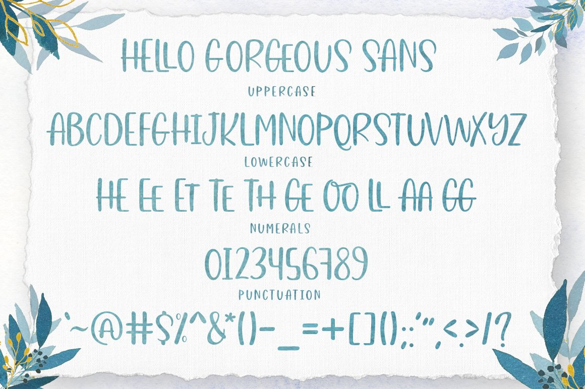 Gorgeous Script Font Trio example image 10