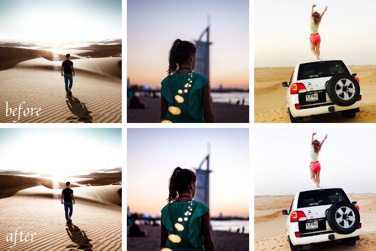 Dubai Everywhere Mobile and Desktop Lightroom Presets example image 4