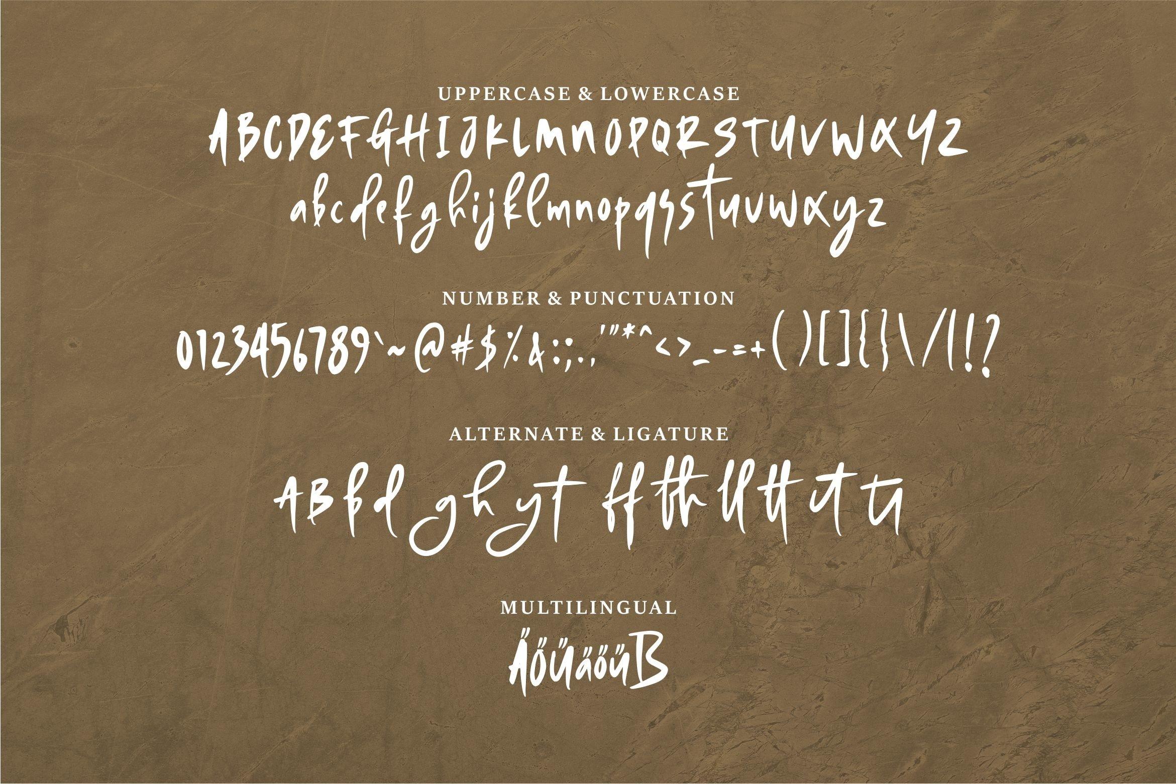 Gurke - Bold & Stylish Handwritten Font example image 6