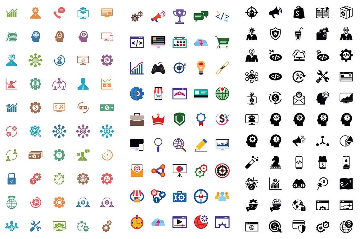 1000 Ultra Big Bundle Infographics Elements example image 10
