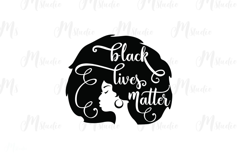 Black Lives Matter SVG Bundle example image 3