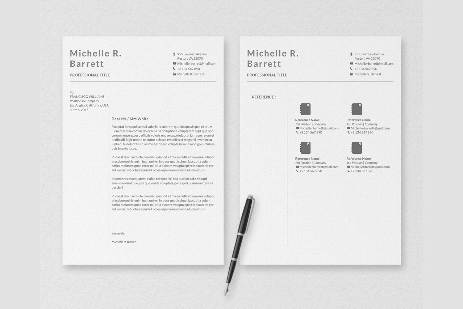 Professional Resume Templates example image 4