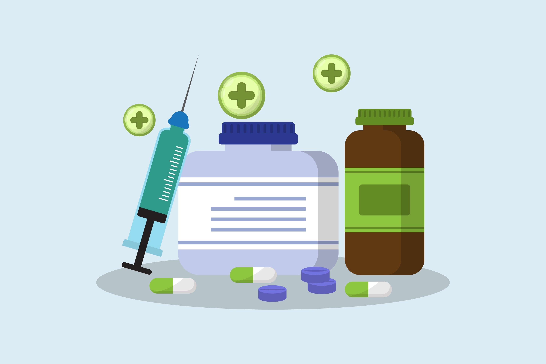 Vaccine Illustrations example image 1