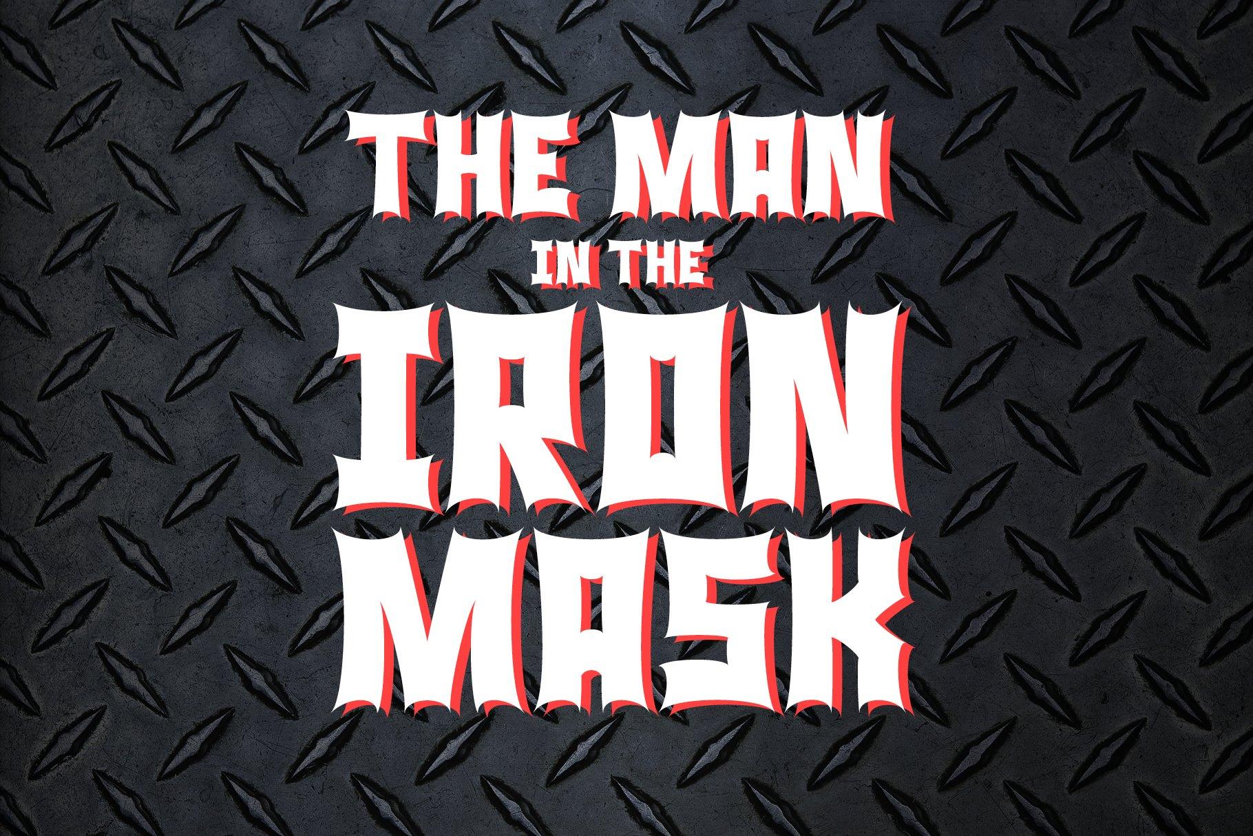 Monster Rock font - Monsta Rocka example image 8