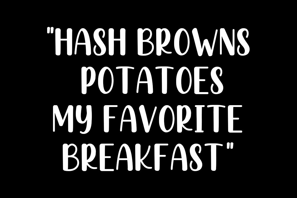 Hashed Browns example image 3