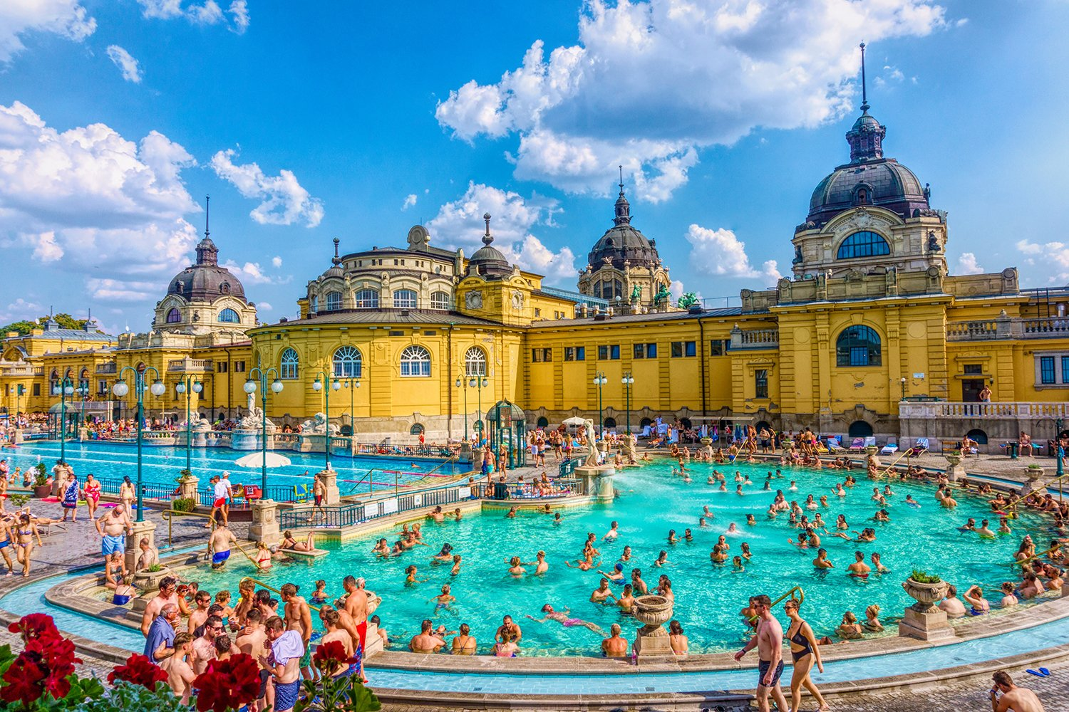 Secheni Thermal Baths in Budapest, Hungary example image 1