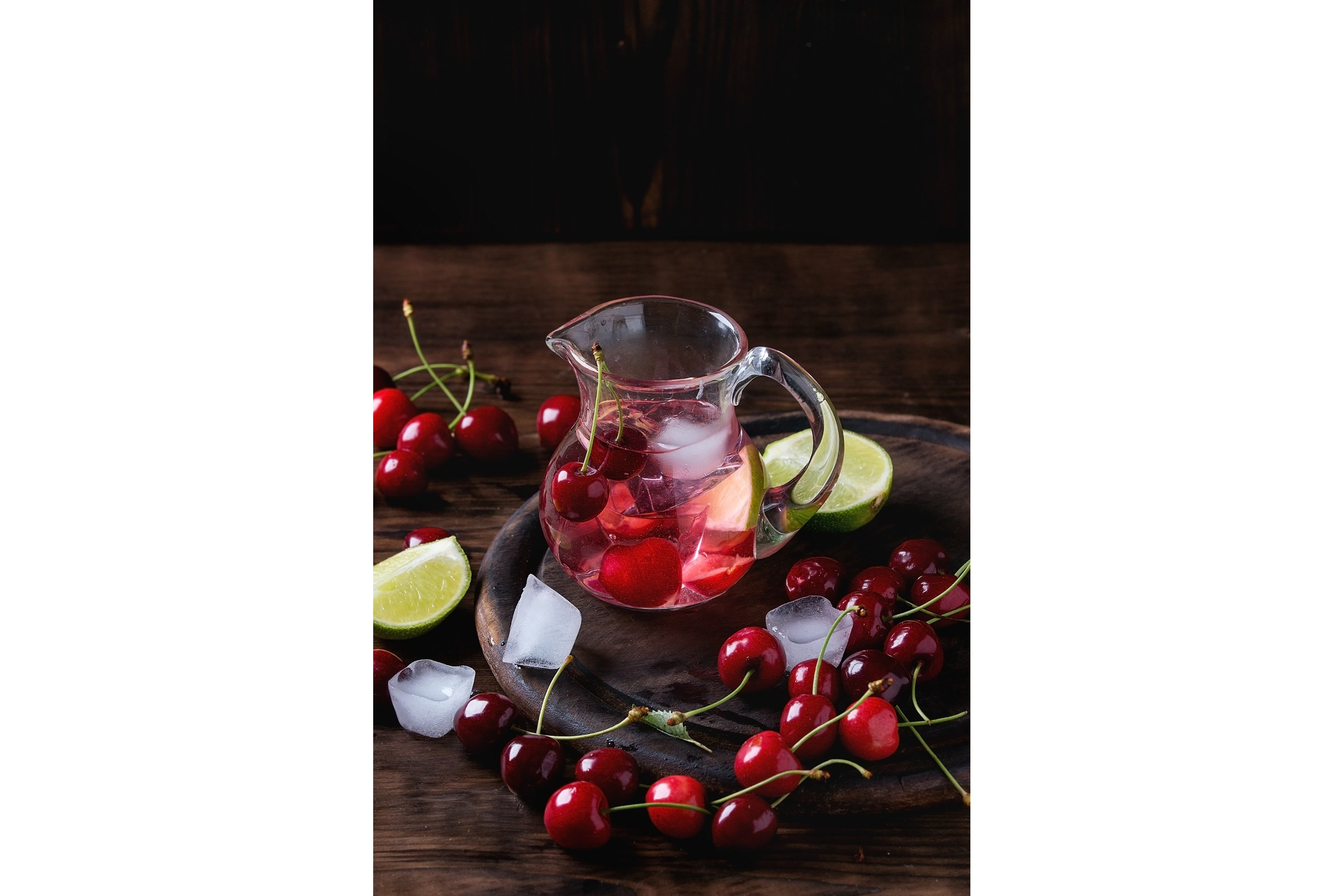 Cherry and lime lemonade example image 1