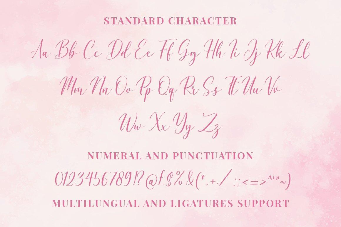 Caroline Script example image 12