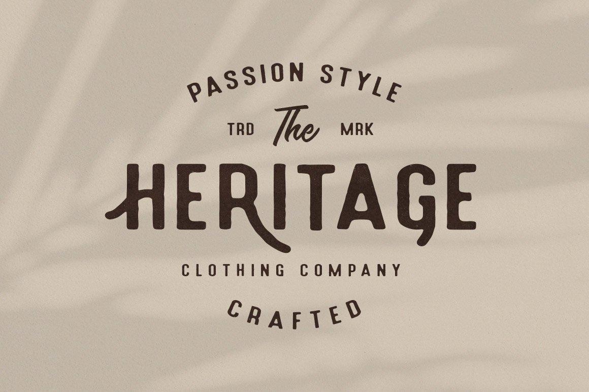 Holluise Vintage Extra Badges Logo example image 3