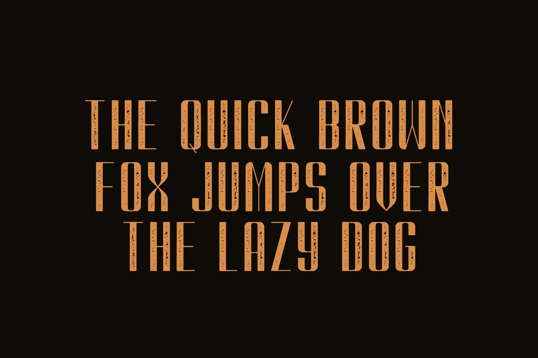 Kionsa Stamp - Vintage Display font example image 5