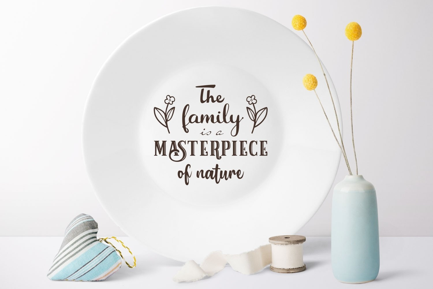 The family is a masterpiece of nature svg Family Quote example image 4