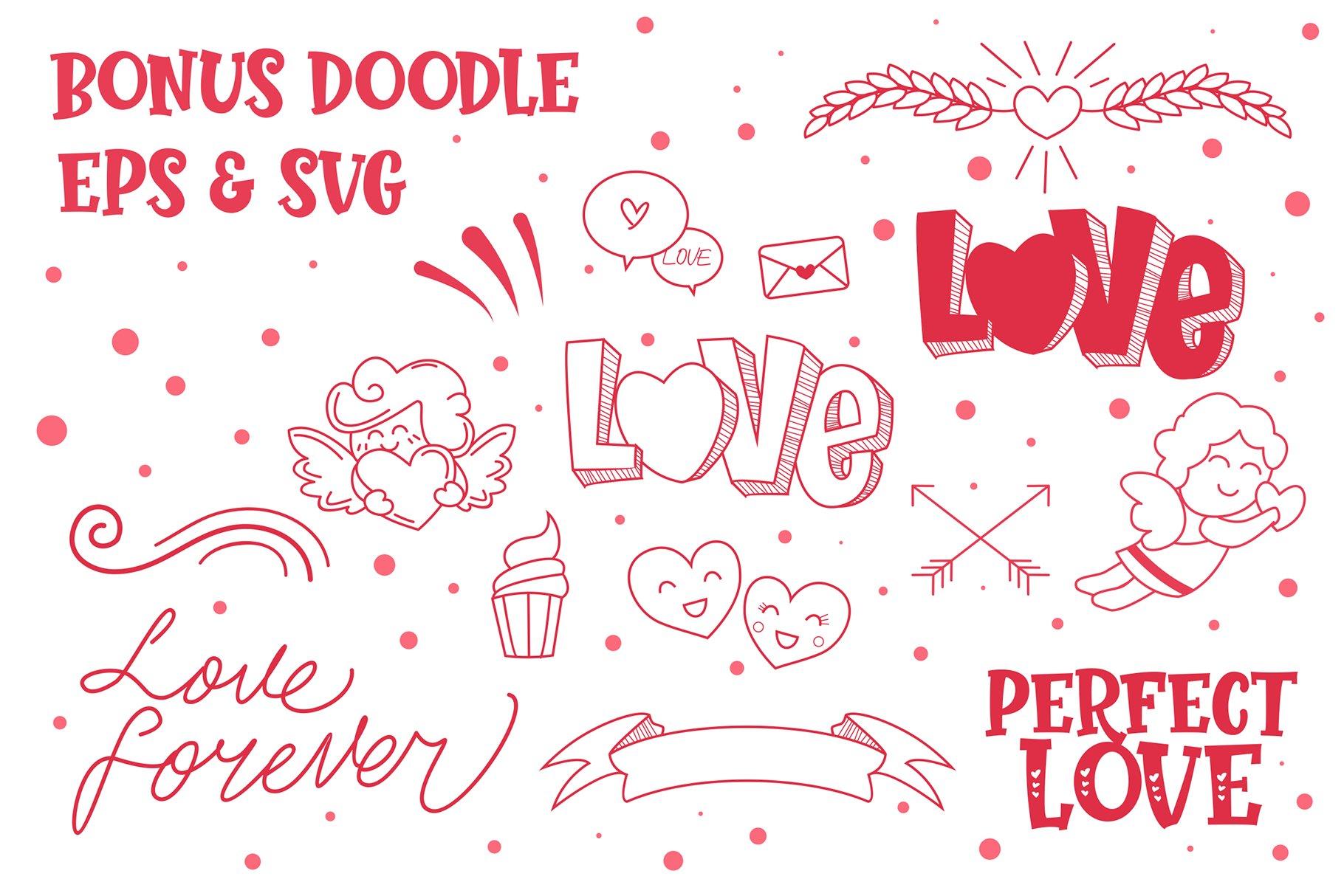 Perfect Love   Bonus Doodle example image 3