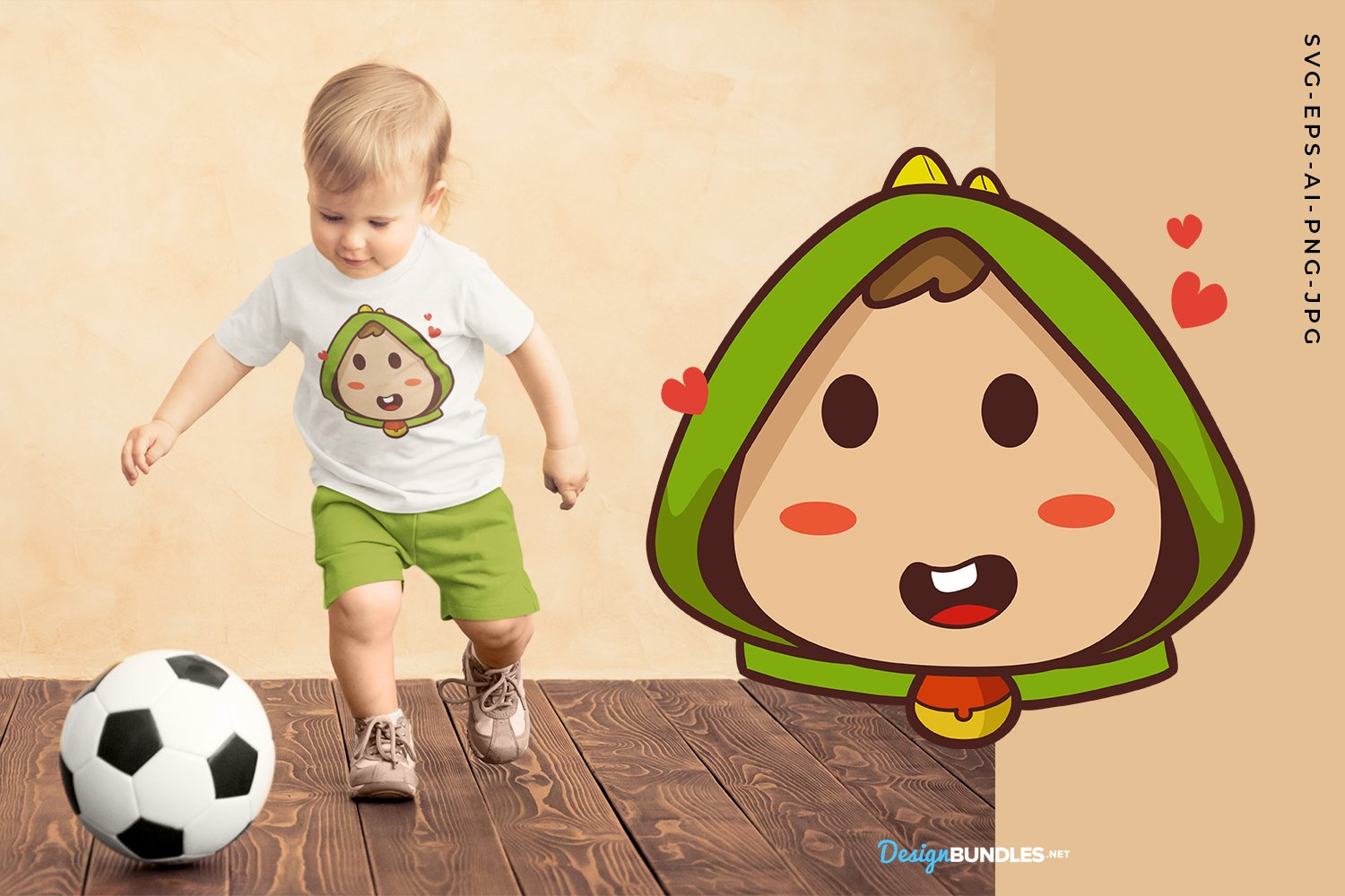 Baby With Love illustration example image 1